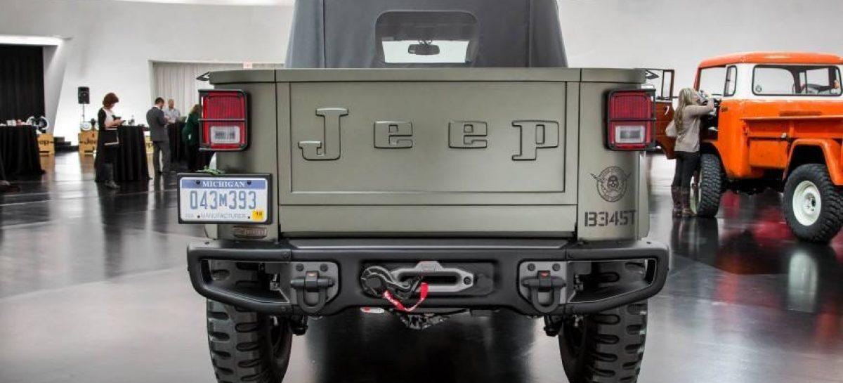 Современная интерпретация Kaiser Jeep