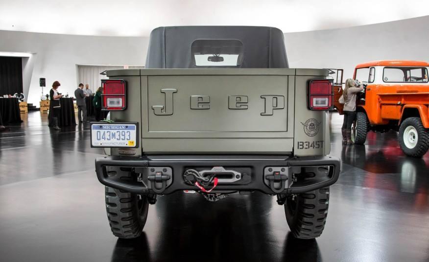 Jeep Crew Chief >> Современная интерпретация Kaiser Jeep   AMSRUS