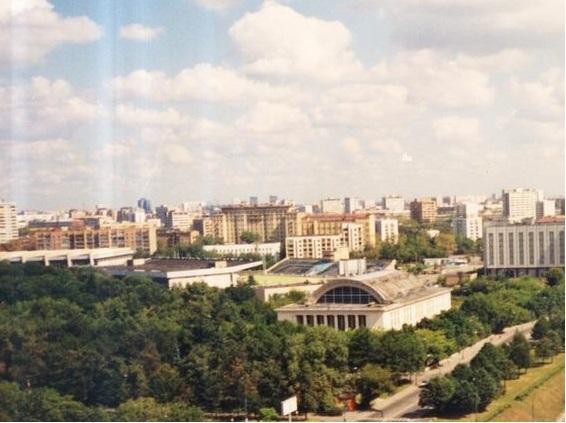 Комплекс - ВТБ Арена парк. Было