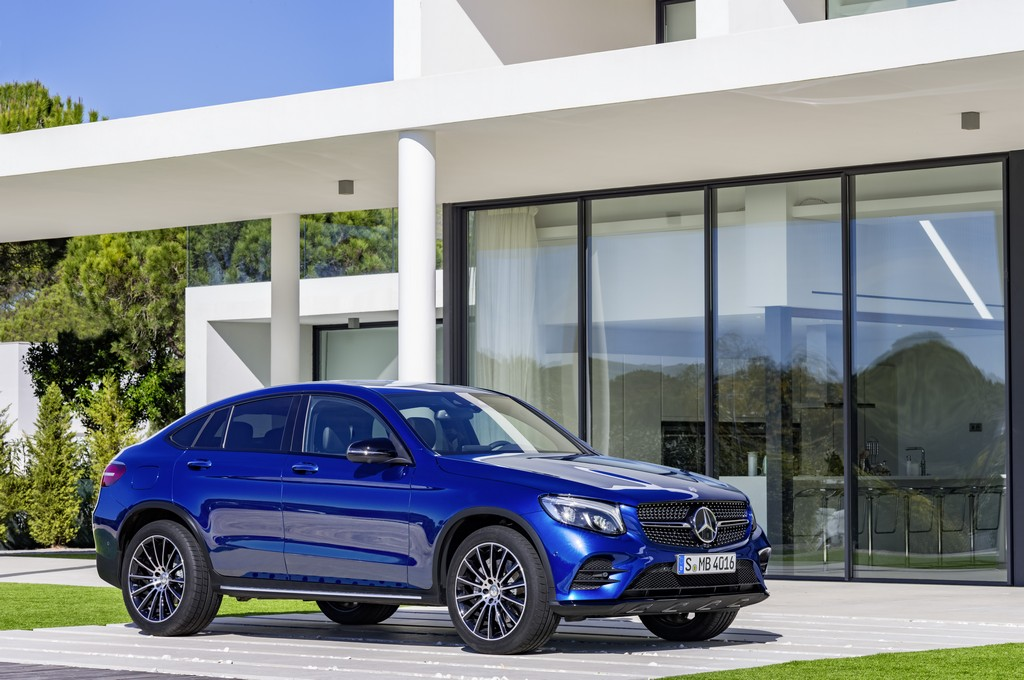 Купе Mercedes-Benz GLC 2016