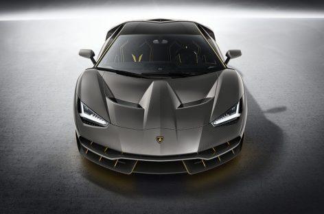 Первый Lamborghini Centenario приехал в Великобританию