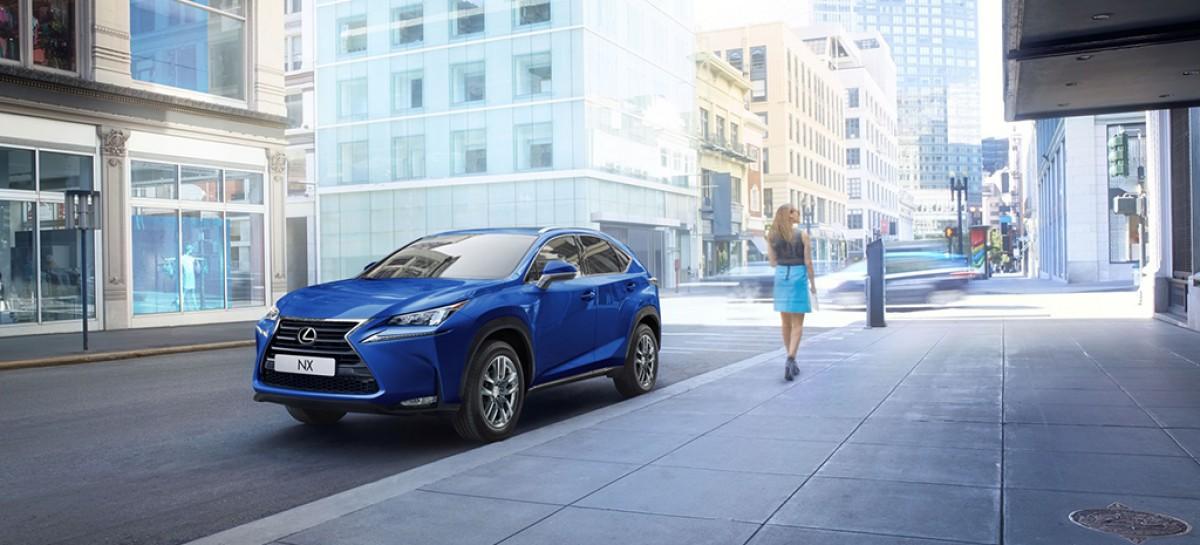 Доля Lexus растет