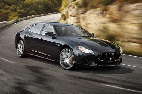 Maserati попался на коврике