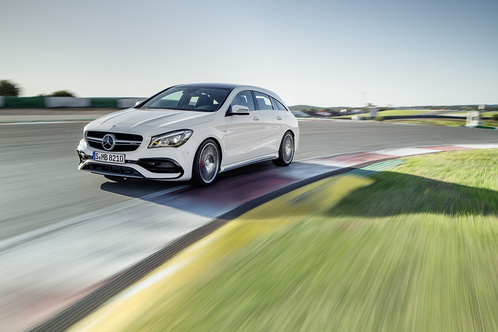Mercedes-AMG CLA Shooting Brake 2016