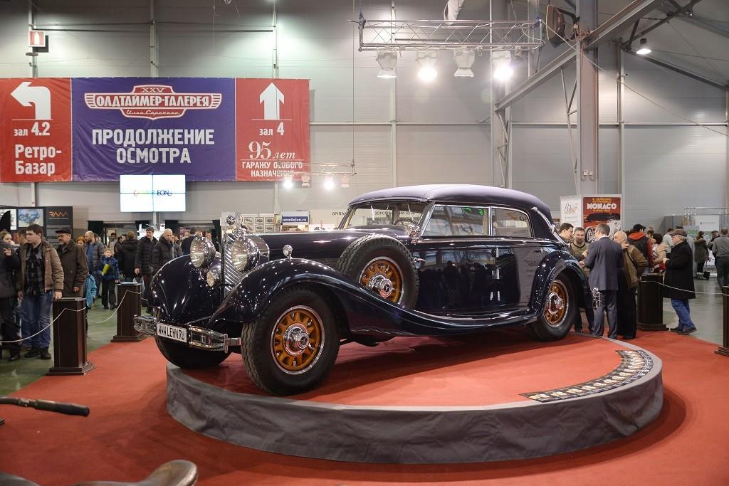 Mercedes-Benz 770K W07 болгарского царя Бориса