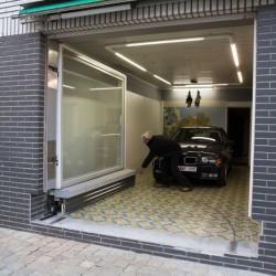 Необычный гараж