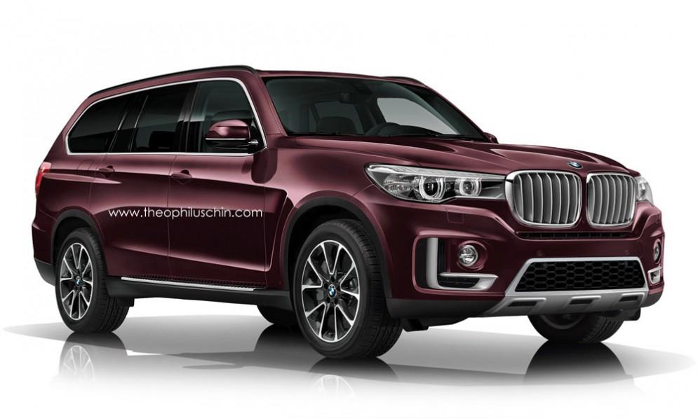 Неофициальное изображение BMW X7