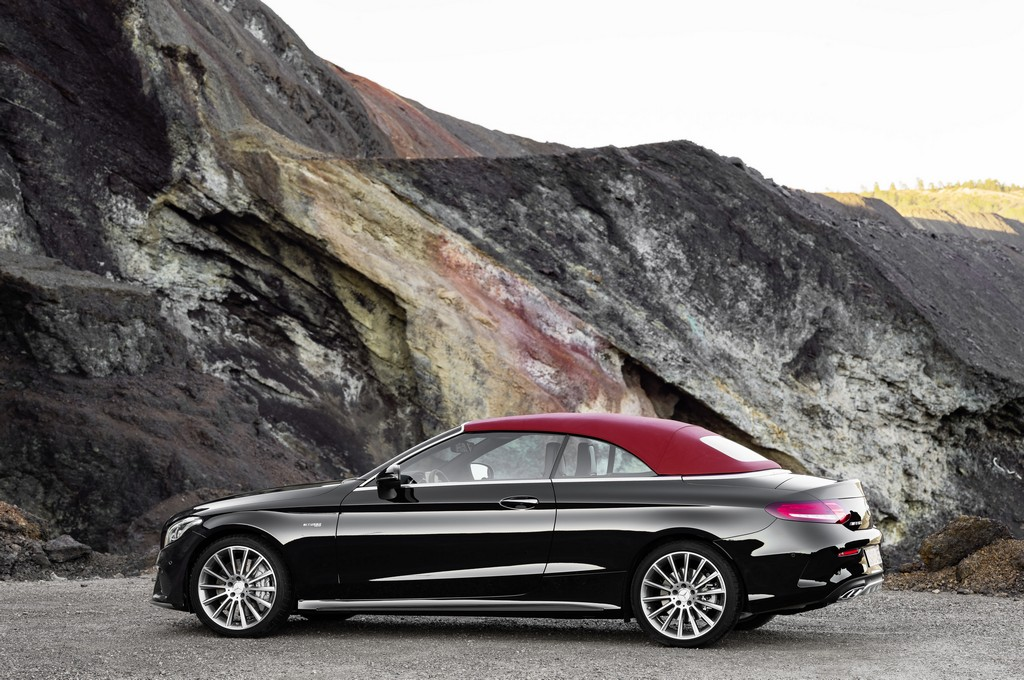 Новый кабриолет Mercedes-Benz C-Class 2016