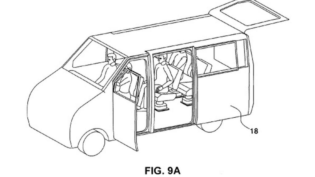 Новый тип автомобильных дверей Hyundai