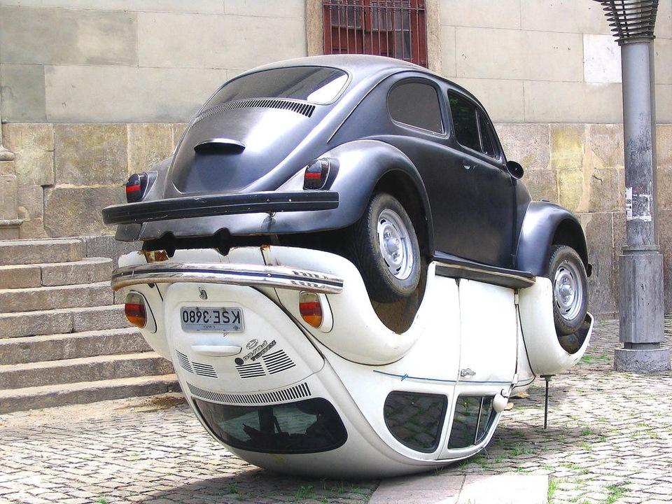 Памятник Volkswagen Beetle
