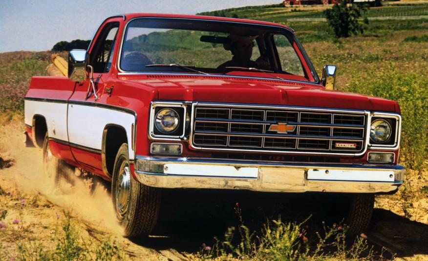 Пикап Chevrolet с дизельным двигателем
