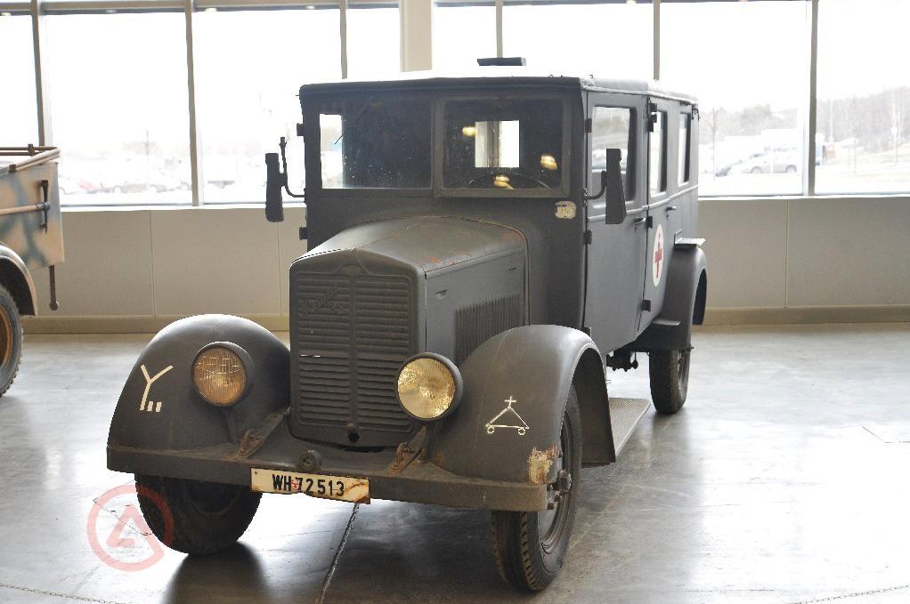Санитарный автомобиль Kfz.31. Моторы войны