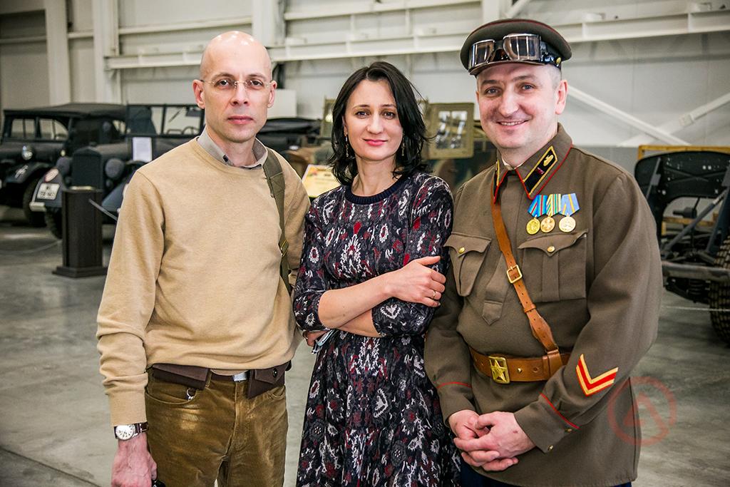 Сергей Асланян, Людмила Лен, Вячеслав Лен. Моторы войны