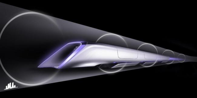 Скоростная капсула Hyperloop
