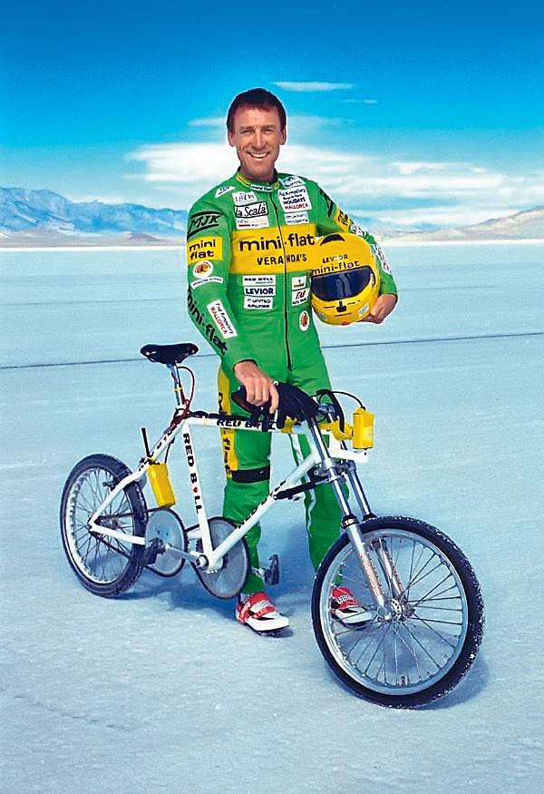 Велогонщик Фред Ромпельберг
