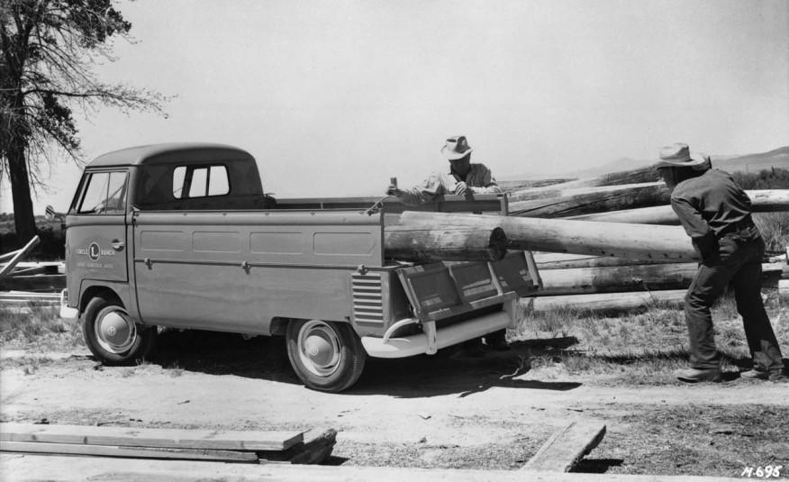 Volkswagen Transporter 1952 года