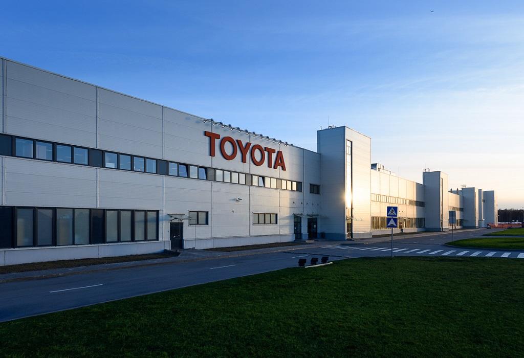 Завод Toyota в Санкт-Петербурге