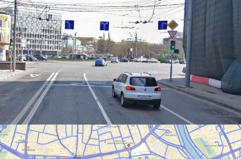 Движение по полосам + светофор