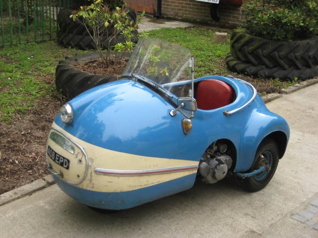 1956 Avolette Record Deluxe 250cc