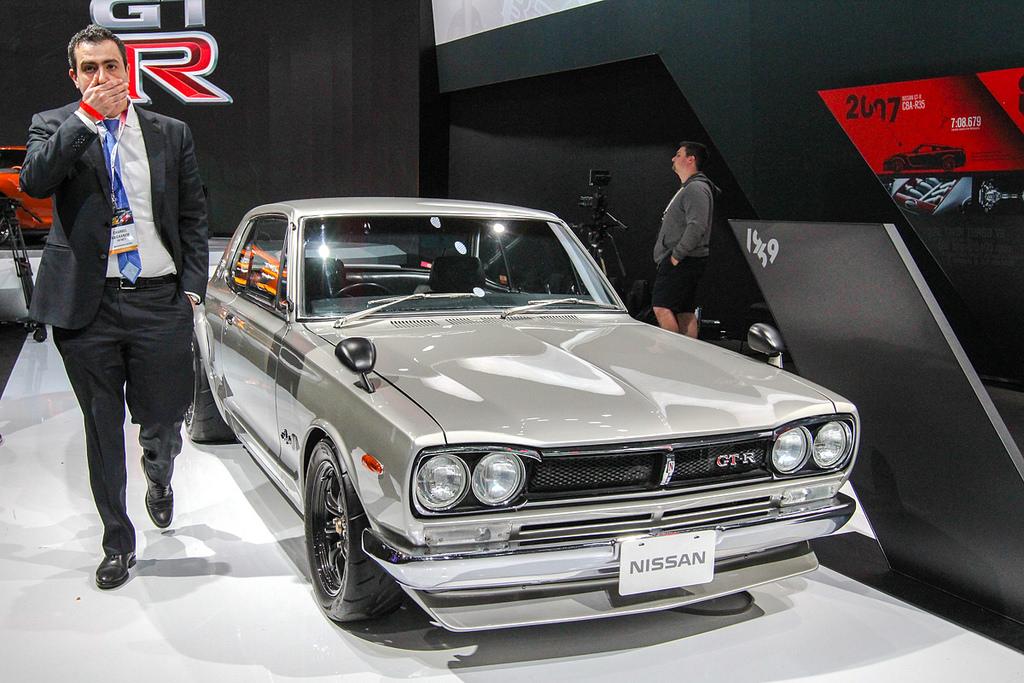 1969 Nissan Skyline 2000 GT-R. Автосалон в Нью-Йорке