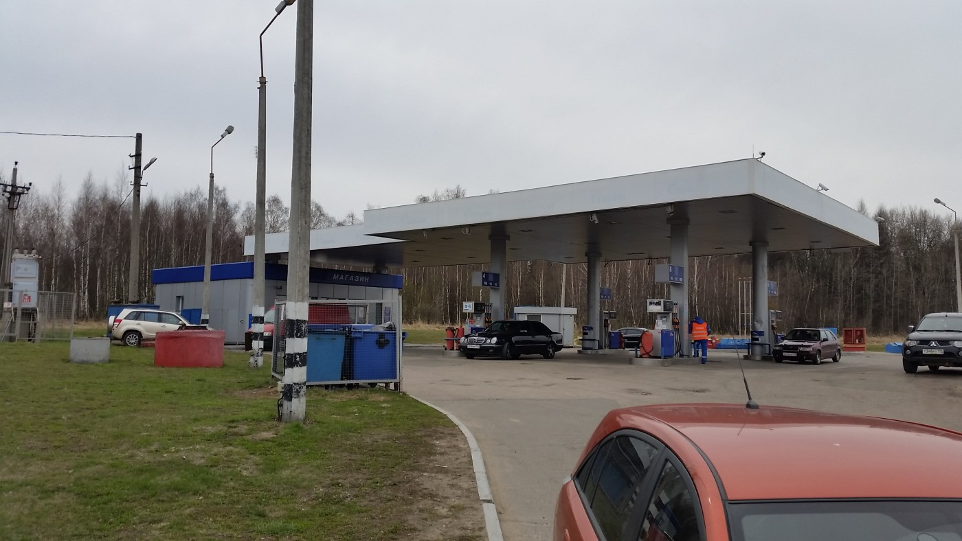 Газпром АЗС №30, МО, д. Лаговское, 52 км ск.а/д М2 Симферопольское шоссе