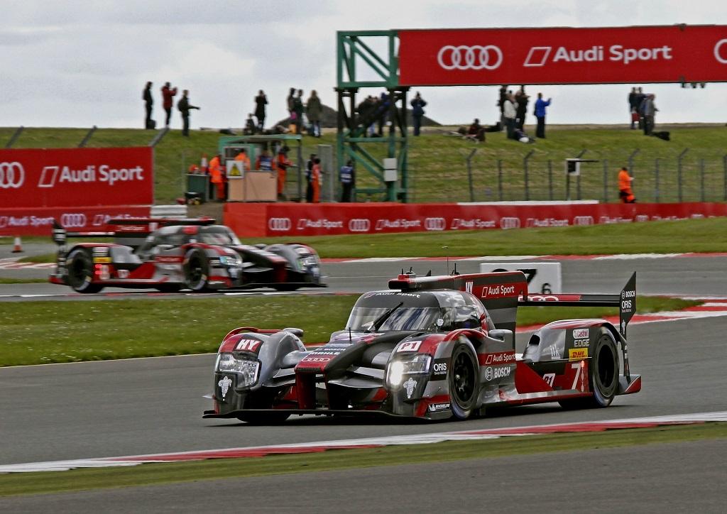 Audi на Чемпионате мира по гонкам на выносливость 2016. Сильверстоун