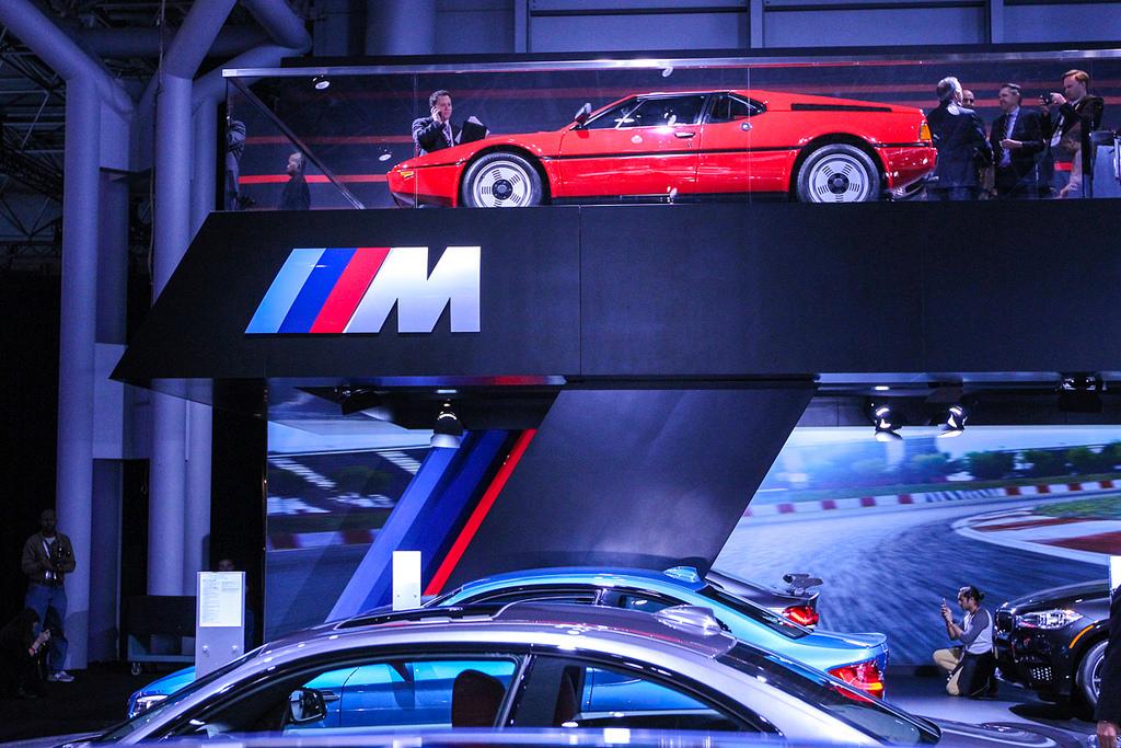 BMW M1. Автосалон в Нью-Йорке