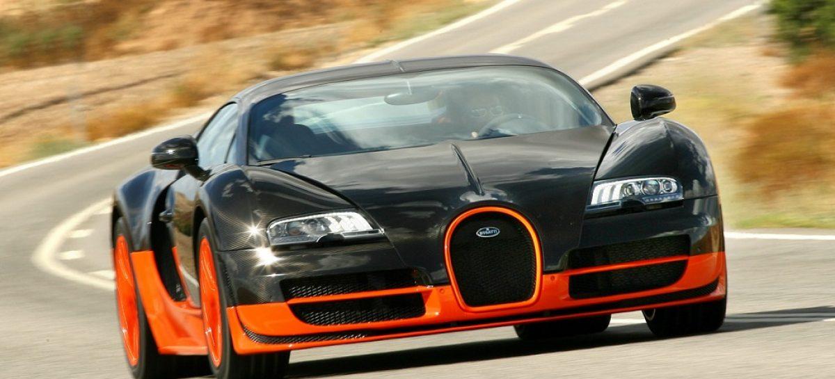 Россиянин заплатит рекордный транспортный налог за Bugatti Veyron