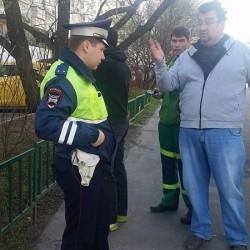 Эвакуация автомобиля. Фото: Владимир Федоров