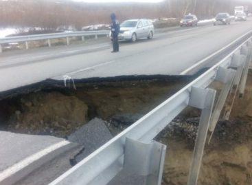 В Мурманской области начала рушиться дорога
