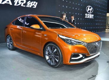 Новый Hyundai Solaris II встанет на конвейер к 2017 году