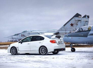 Рожденный летать: Subaru WRX STI