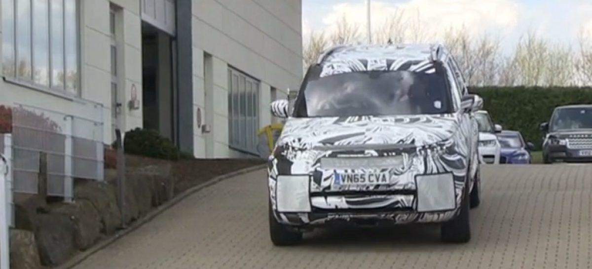 Новый Land Rover Discovery попал в объективы