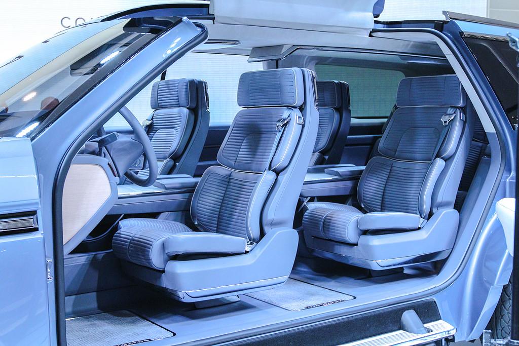 Lincoln Navigator. Автосалон в Нью-Йорке