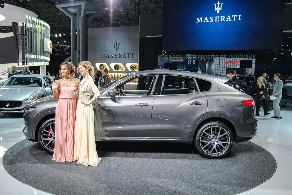 Maserati Levante. Автосалон в Нью-Йорке