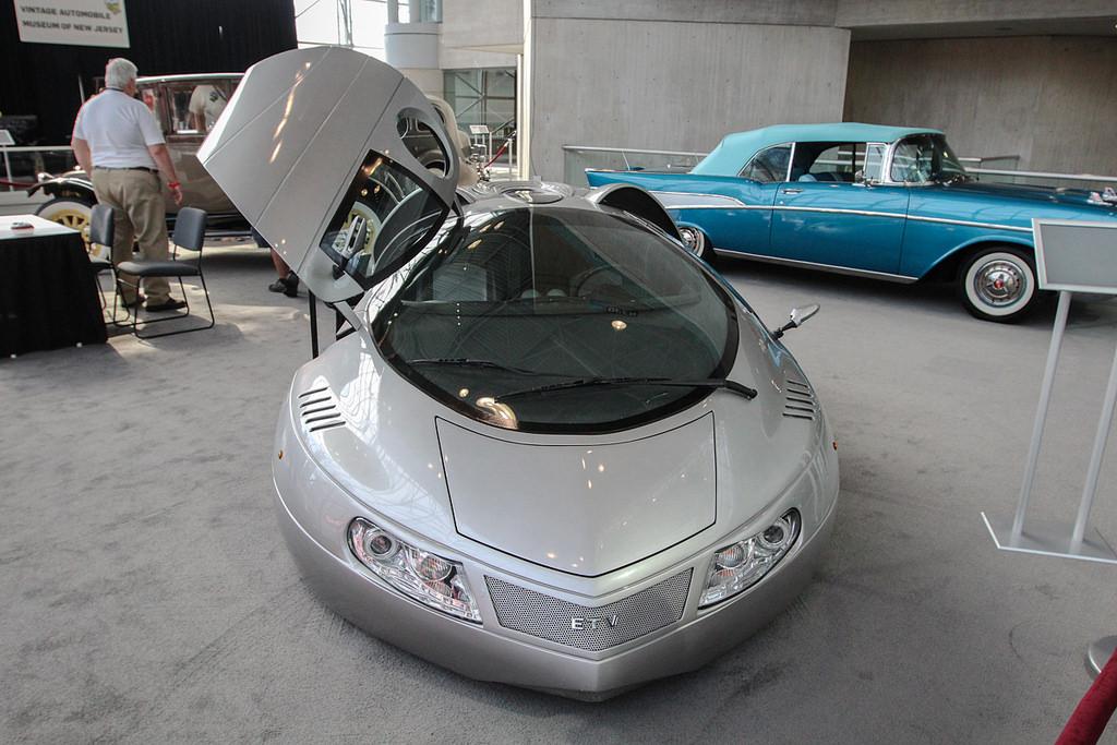 Музейный ETV. Автосалон в Нью-Йорке