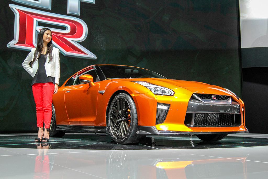 Nissan GT-R Godzilla. Автосалон в Нью-Йорке