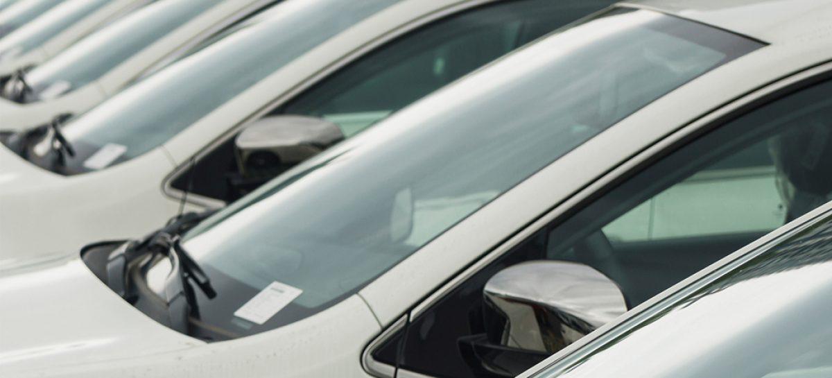 Продажи новых автомобилей в марте