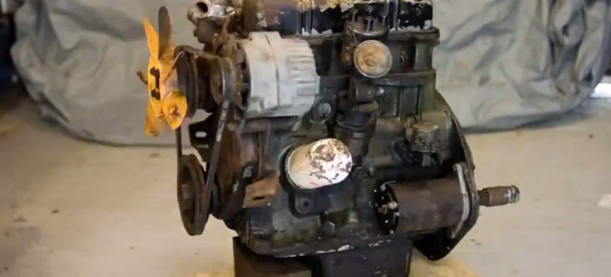 Фотосессия для двигателя