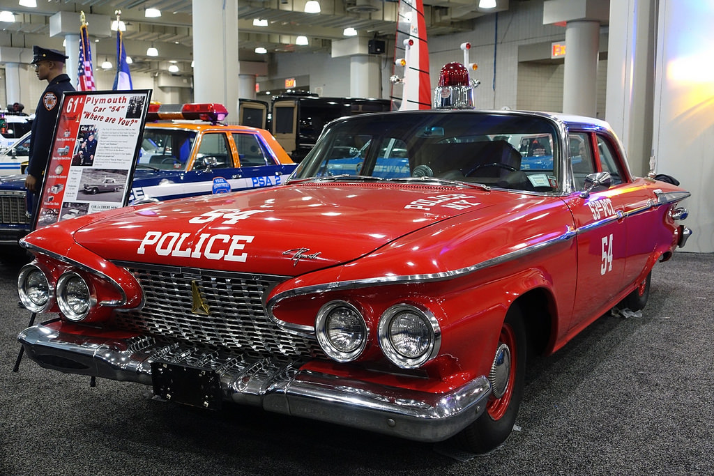 Plymouth Savoy 1961 года. Автосалон в Нью-Йорке