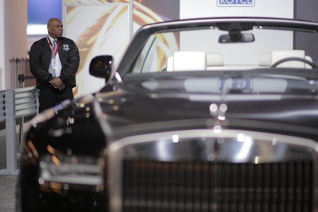 Rolls-Royce. Автосалон в Нью-Йорке