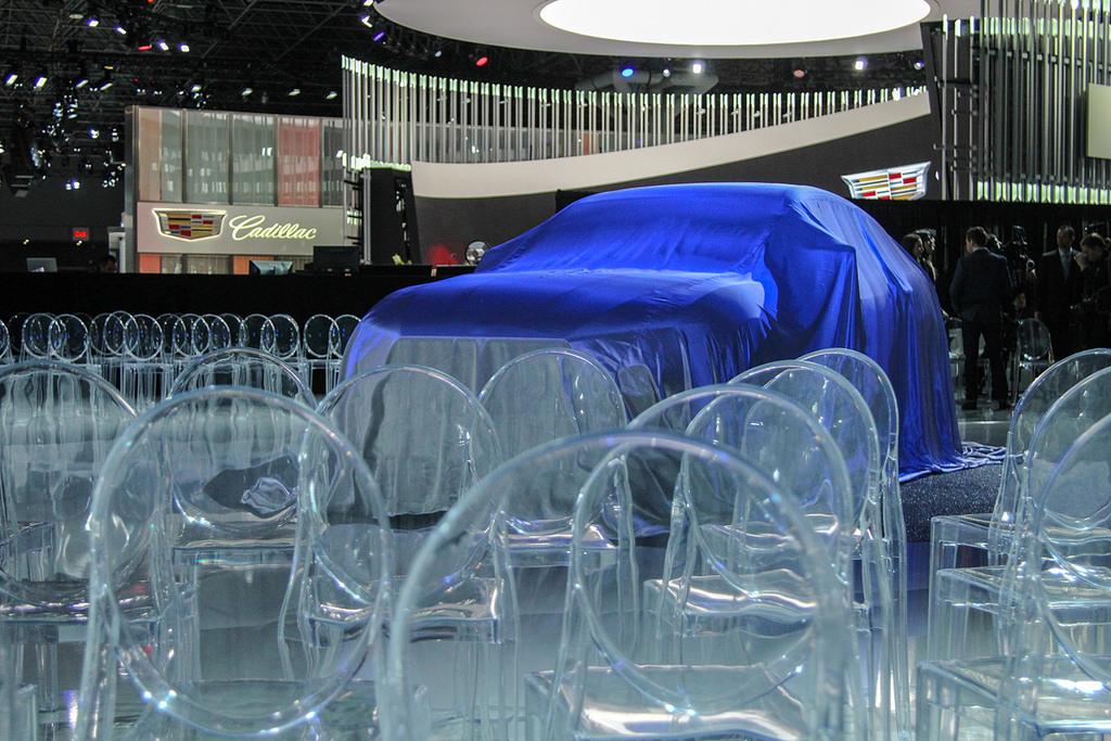 Стенд компании Maserati. Автосалон в Нью-Йорке