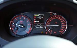 Subaru WRX STI Интерьер