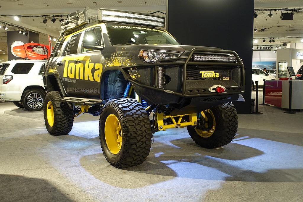 Toyota 4Runner. Автосалон в Нью-Йорке