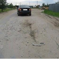 Водитель не пострадал