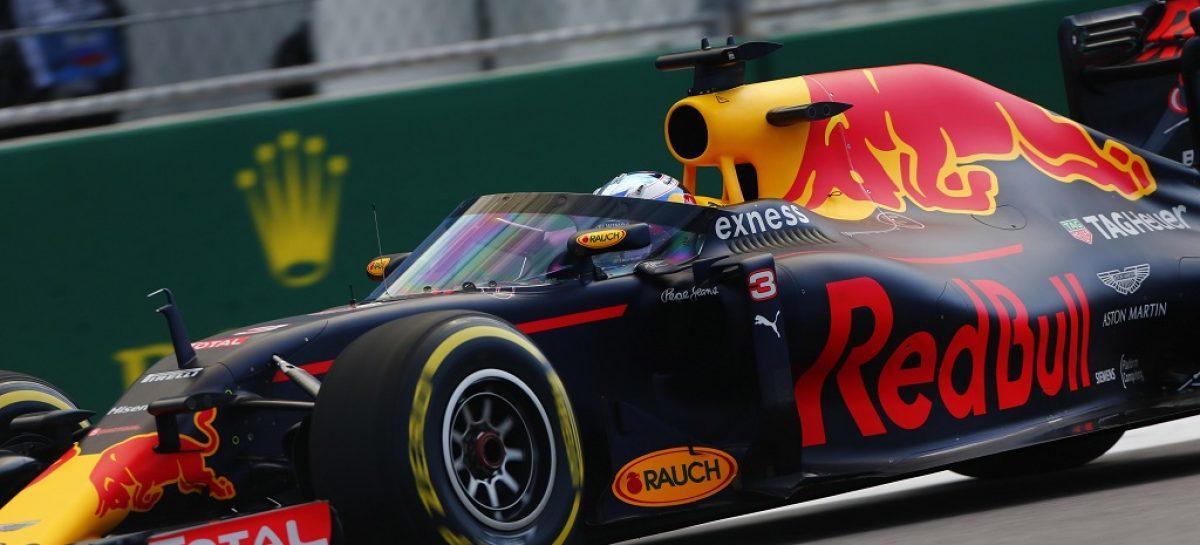 Защитный экран Red Bull
