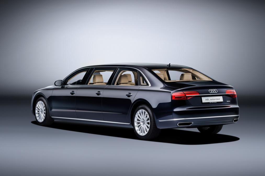 Audi A8 L на экстрадлинной колесной базе