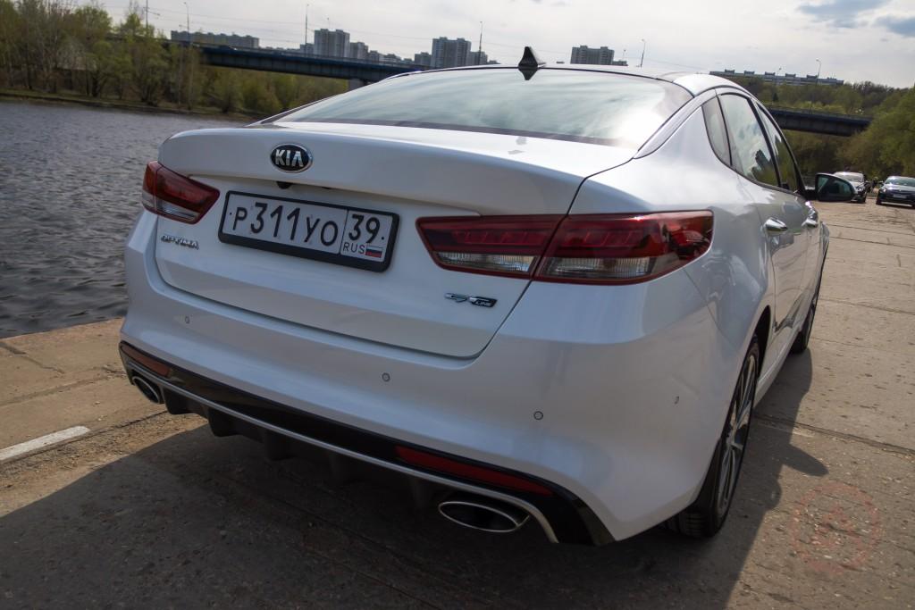 KIA Optima 2015 GT-line 2.4 GDI 188 л.с.