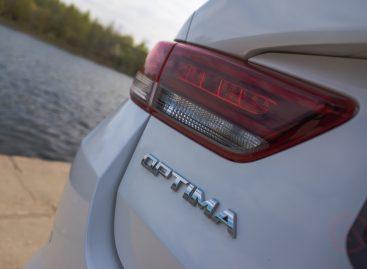 KIA Optima получила высший рейтинг – IIHS Top Safety Pick Plus