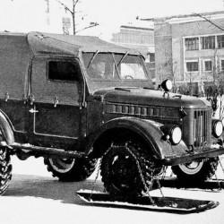 Экспериментальные внедорожники на базе модели ГАЗ-69